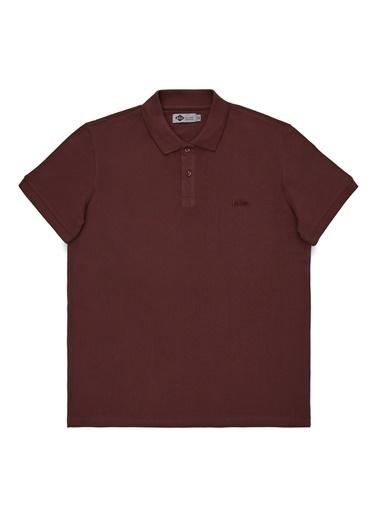 Lee Cooper Lee Cooper Erkek Bordo Polo T-Shirt Bordo